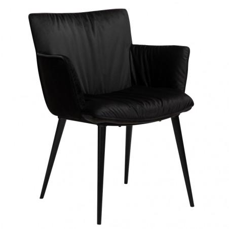 Dan-Form Join Dining Armchair Black Velvet