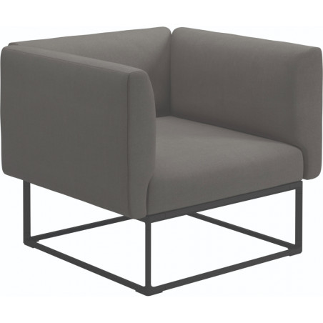 Gloster Maya Lounge Chair 97 Cm x 86 Cm Meteor Frame