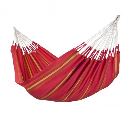 La Siesta Currambera Cherry Red Double Hammock
