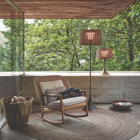 Gloster Ambient Mesh Outdoor Floor Lamp