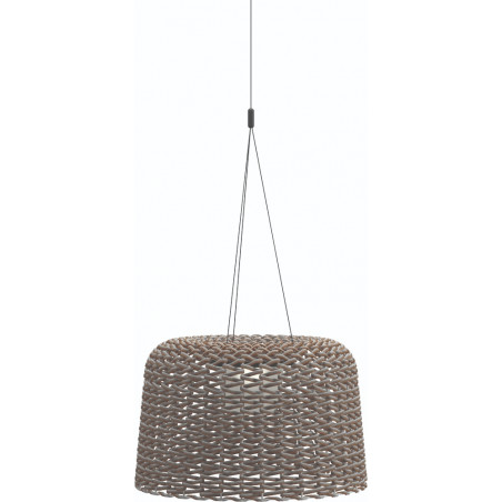 copy of Gloster Ambient Mesh Large Pendant Lamp Carob