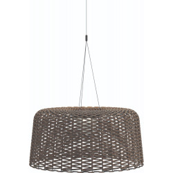 Gloster Ambient Mesh Extra Large Pendant Lamp Carob