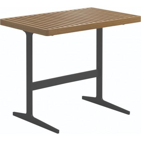 Gloster Grid Side Table Teak