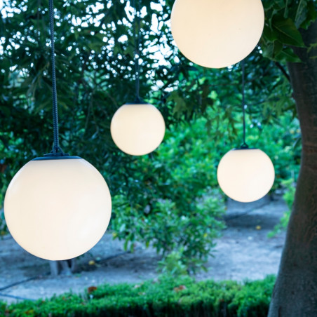 Newgarden Norai Outdoor Portable Pendant Lamp Grey 24 CM