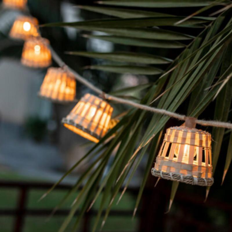 Newgarden Aurora Solar & Rechargeable Garland - Warm Light