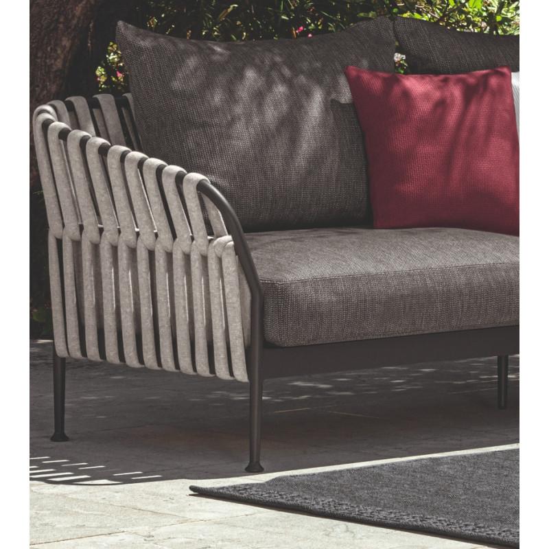 Talenti Frame 3 Seater Sofa Graphite Dark Grey