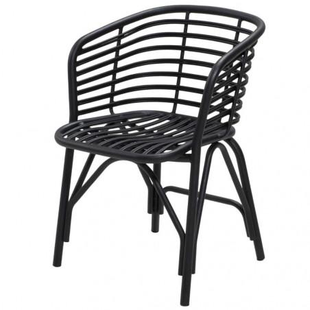 Cane-Line Blend Outdoor Aluminium Armchair - Lava Grey