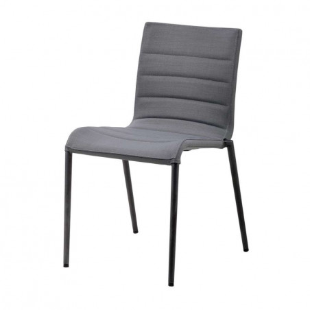 Cane-Line Core Stackable Softtouch Chair - Grey