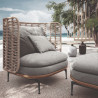 Gloster Mistral Outdoor Lounge Chair
