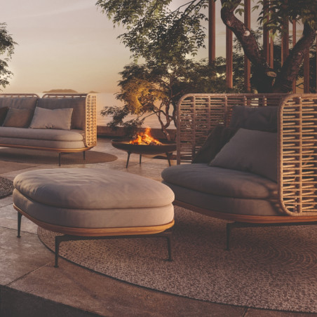 Gloster Mistral Outdoor Ottoman