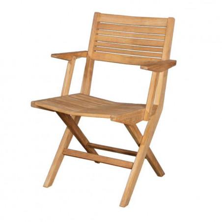 Cane-Line Flip Folding Armchair -Teak