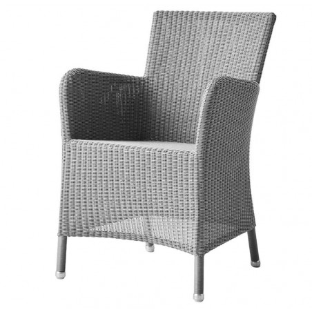 Cane-Line Hampsted Weave Chair - Light Grey
