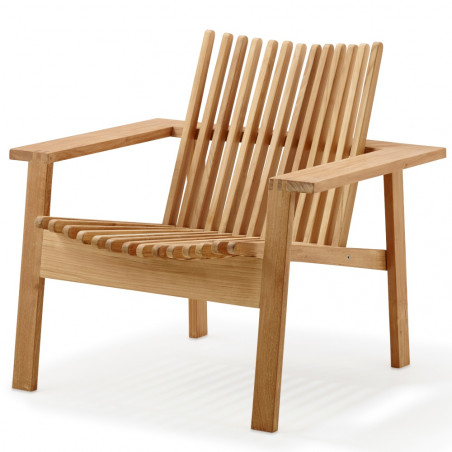 Cane-Line Amaze Stackable Lounge Chair - Teak