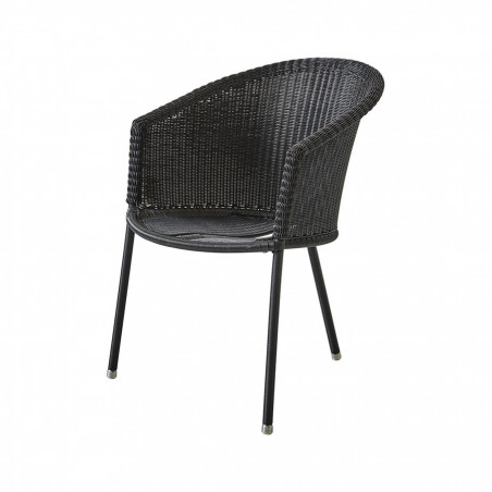 Cane-Line Trinity Stackable Weave Chair - Graphite