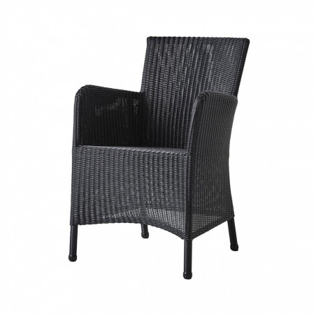 Cane-Line Hampsted Weave Chair - Black