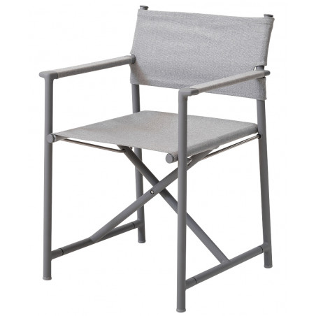Cane-Line Struct Airtouch Folding Chair - Light Grey