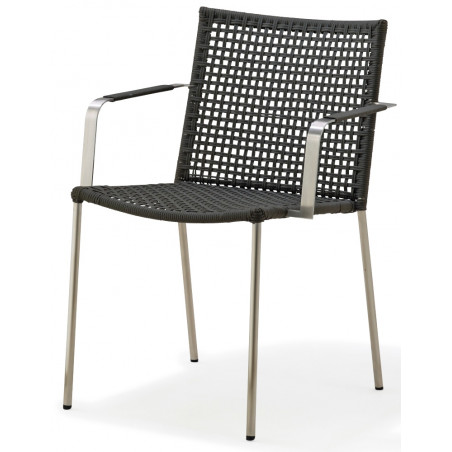 Cane-Line Straw Stackable Rope Armchair