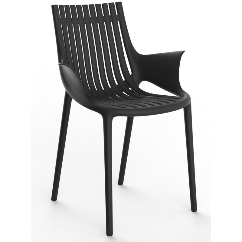 Vondom Ibiza Dining Armchair |Closed Arms | Set of 4 | Stackable