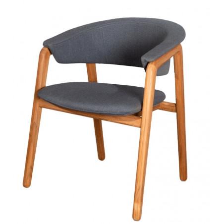 Cane-Line Luna Teak/Grey Airtouch Armchair