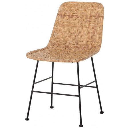 Bloomingville Kitty Dining Chair Nature Rattan