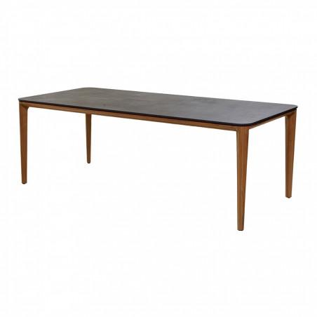 Cane-Line Aspect Dining Table Base, 210X100cm, Teak