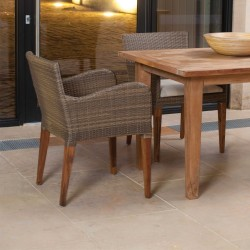 Teak Bakery Dining Table