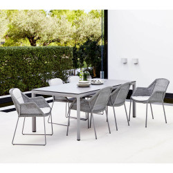 Cane-Line Drop Outdoor Dining Table 200 X 100 CM