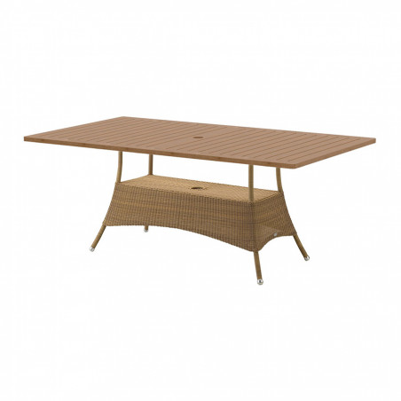 Cane-Line Lansing Dining Table, Large, 180 X 100cm