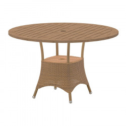 Cane-Line Lansing Dining Table, Small, Dia. 120cm