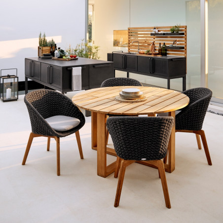 Cane-Line Endless Table, Dia. 130cm