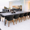 Cane-Line Drop Dining Table 200 CM With 120 Extension