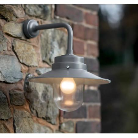 Garden Trading Belfast Wall Light in Charcoal