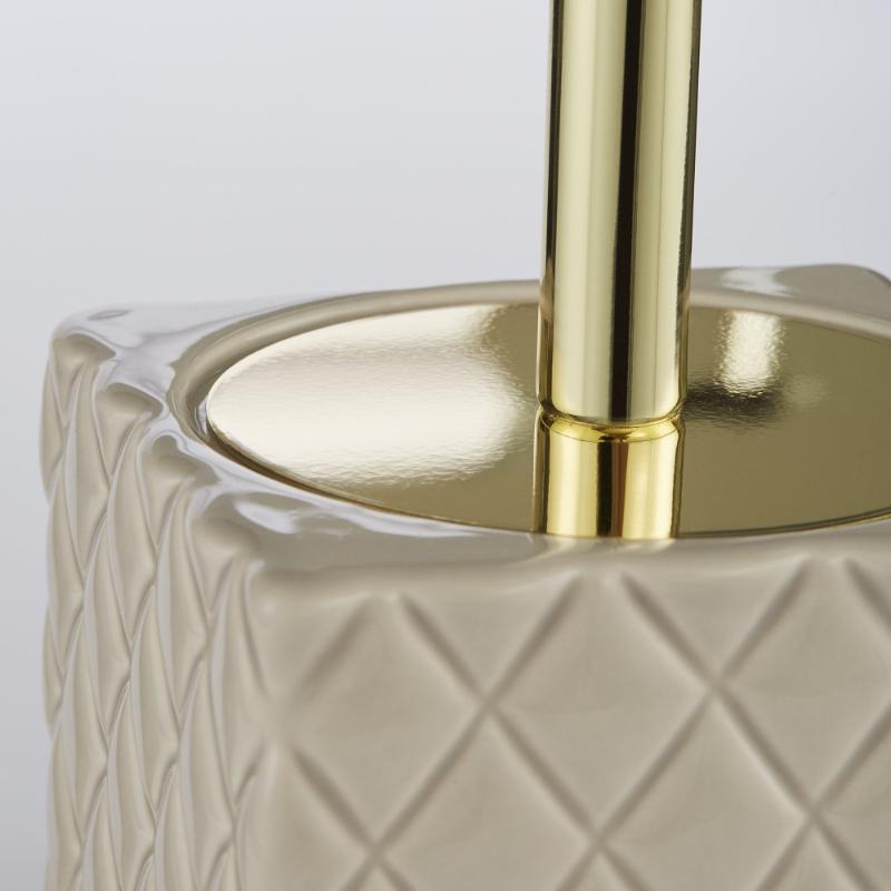 Lene Bjerre Portia Toilet Brush H39cm Camel