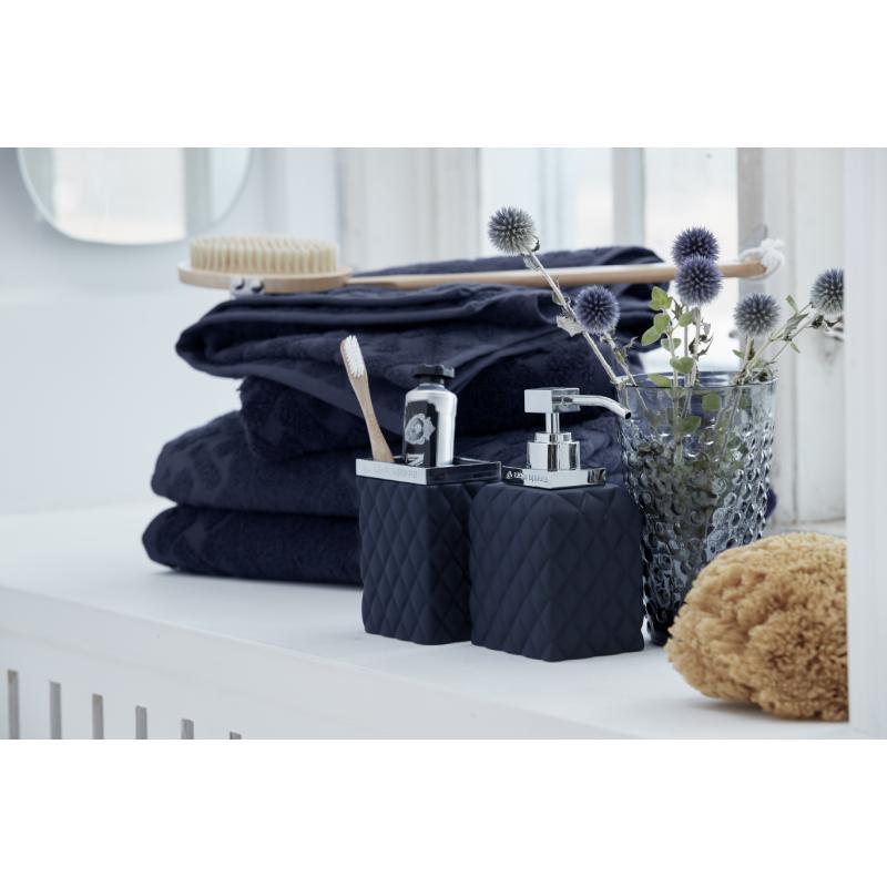Lene Bjerre Laurie Bath Towel Maritime Blue 140 X 70 cm