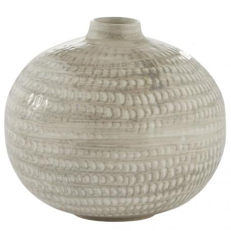 Lene Bjerre Cassandra Vase H15.5cm Silver Grey