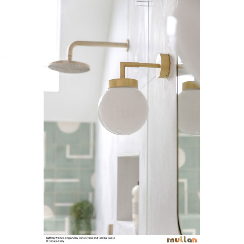 Mullan Lighting Jordan Small Globe Wall Light