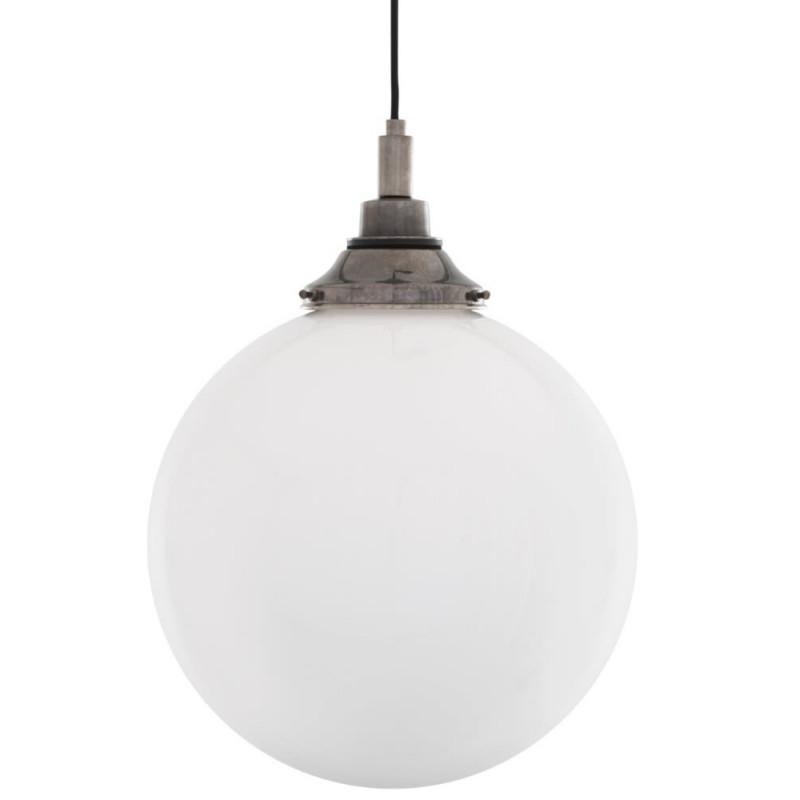 Mullan Lighting Pelagia Opal Globe 30cm Pendant Light