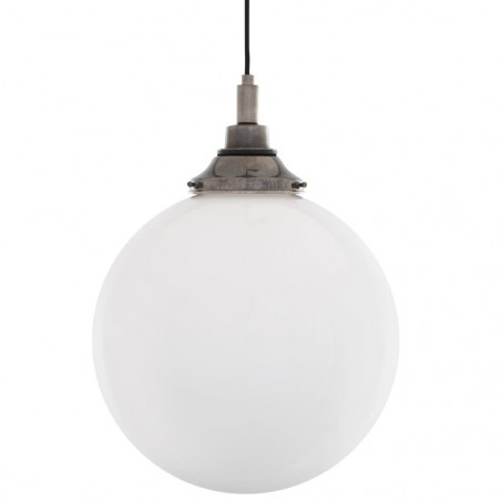 Mullan Lighting Pelagia Opal Globe 30cm Pendant Light