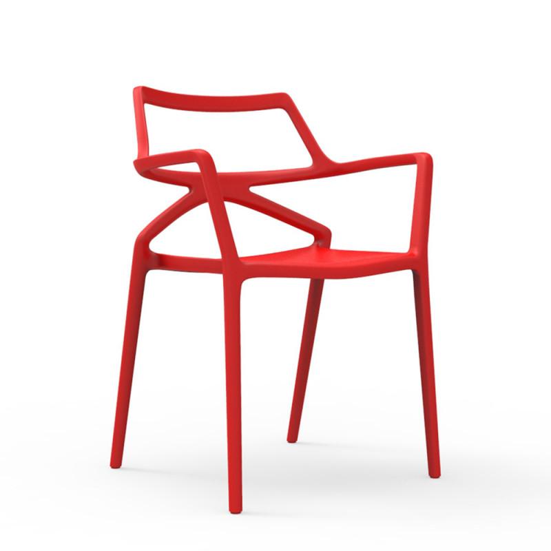 Vondom Delta Chair with Armrests   Set of 4