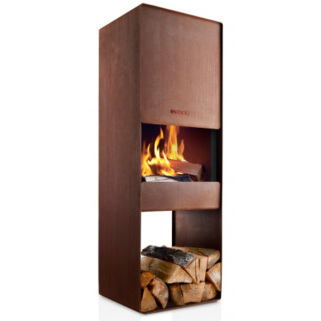 Eva Solo Firebox Corten Steel Outdoor Wood Burner