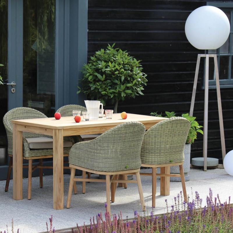 Safari Outdoor Dining Chair - Rino