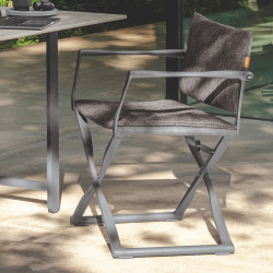 Talenti Riviera Outdoor Director Dining Chair | 3 Colours