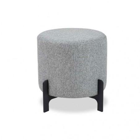 Liang & Eimil Koldrum Stool - Emporio Grey Fabric