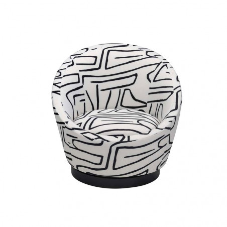 Liang & Eimil Ekte Occasional Chair - Zebra Black & White