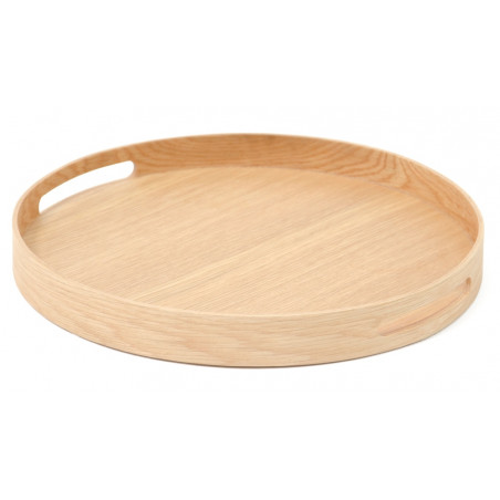 Wireworks Busboy 308 Round Tray | Natural Oak