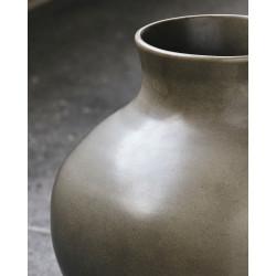House Doctor Santa Fe Vase | Shellish Mud