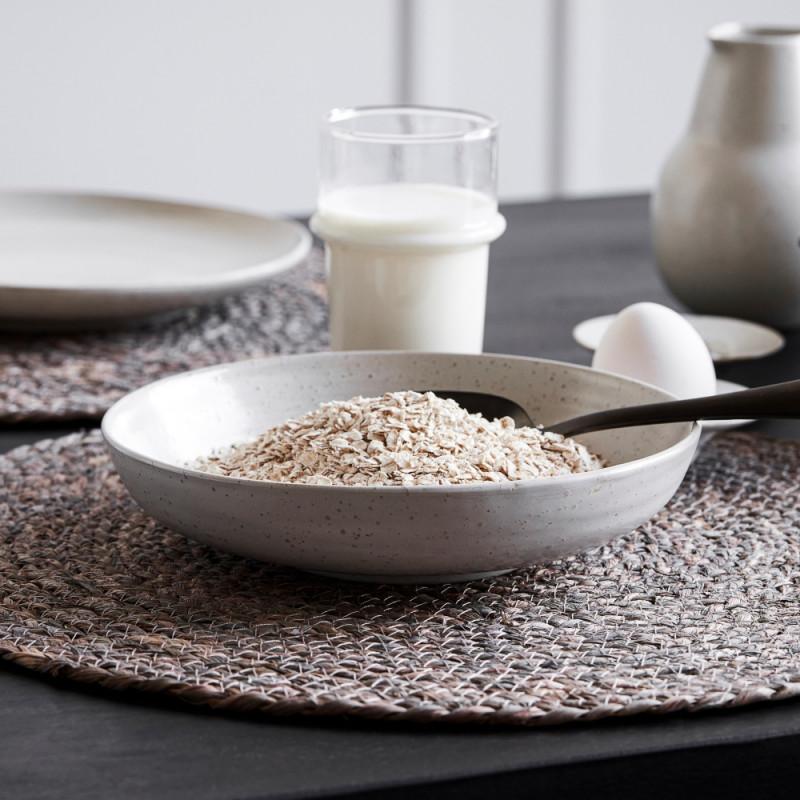 House Doctor Porcelain Pion Bowl - Grey White