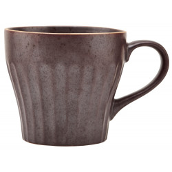 House Doctor Berica Stone Cup - Brown