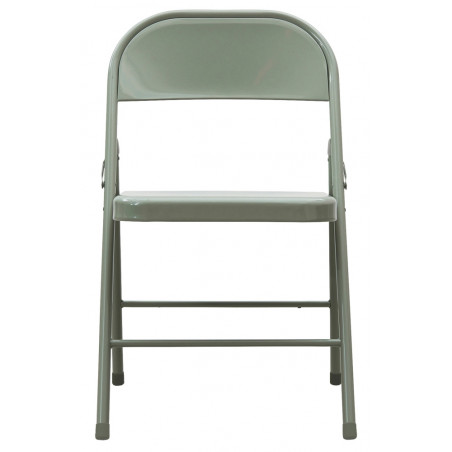 House Doctor Steel Folding Chair - Army Green