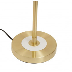 Savoy Table Lamp Brass Opal Glass